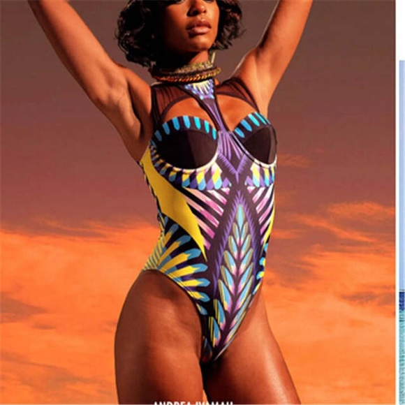 Other - Tribal Print Swimsuit